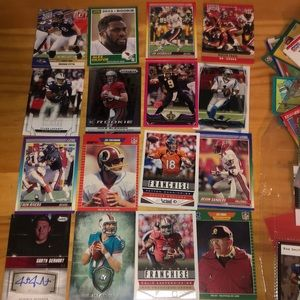 Rare mint condition football cards